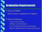 graduation requirements2
