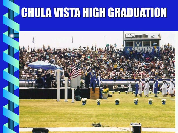 CHULA VISTA HIGH GRADUATION