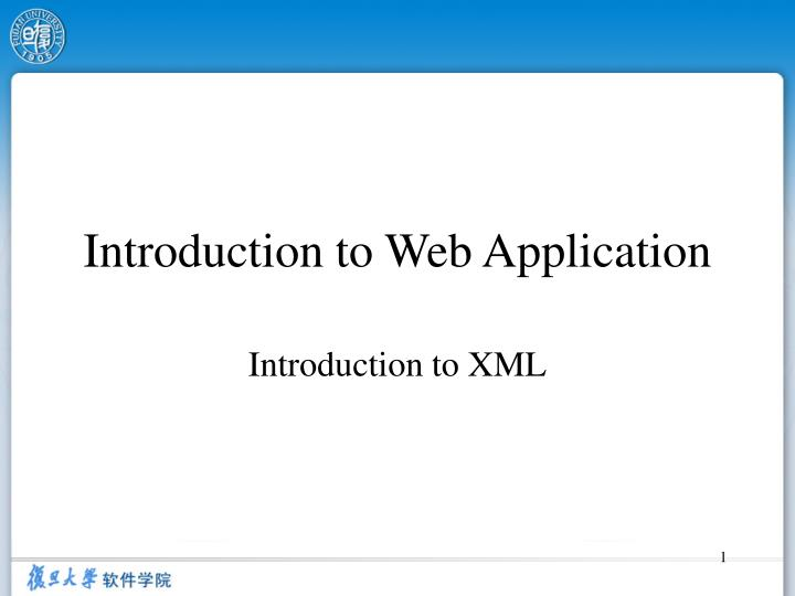 introduction to web application n.