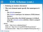 xml schemas cont2