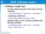 xml schemas cont4
