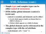 xml schemas cont6