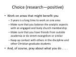 choice research positive1