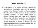 argument 3