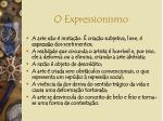 o expressionismo1