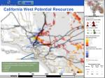 california west potential resources