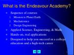 what is the endeavour academy