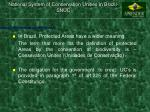 national system of conservation unities in brazil snuc