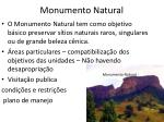 monumento natural