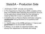 statssa production side