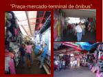pra a mercado terminal de nibus