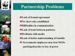 partnership problems