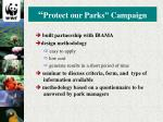 protect our parks campaign1