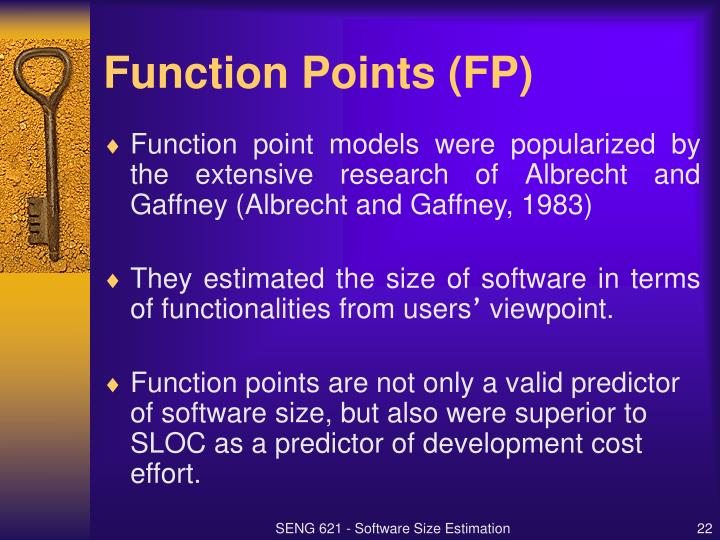 Function Points (FP)