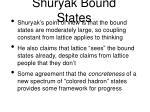 shuryak bound states