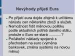 nev hody p ijet eura