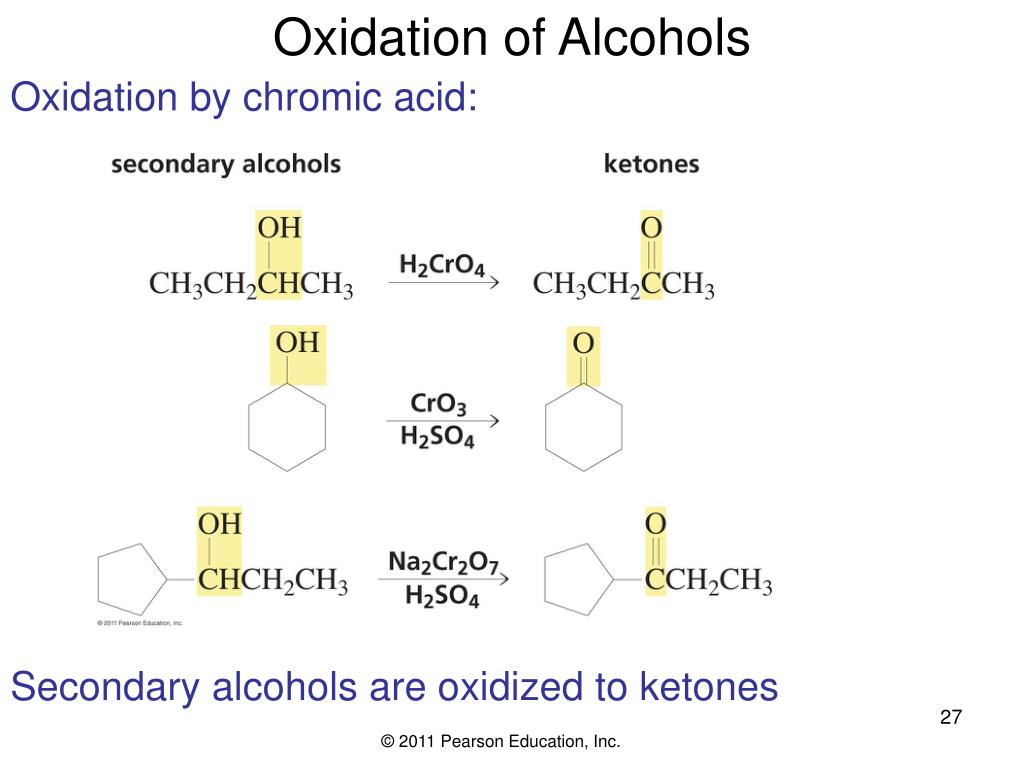 PPT - Chapter 10 Reactions of Alcohols, Amines, Ethers