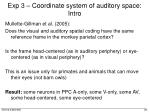 exp 3 coordinate system of auditory space intro