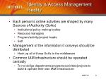 identity access management reality