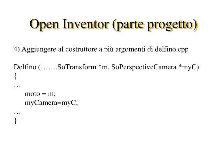 Open inventor parte progetto2