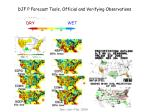 djf p forecast tools official and verifying observations