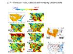 djf t forecast tools official and verifying observations