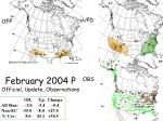 february 2004 p official update observations