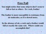free fall1