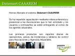 datamart caaarem