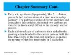 chapter summary cont3