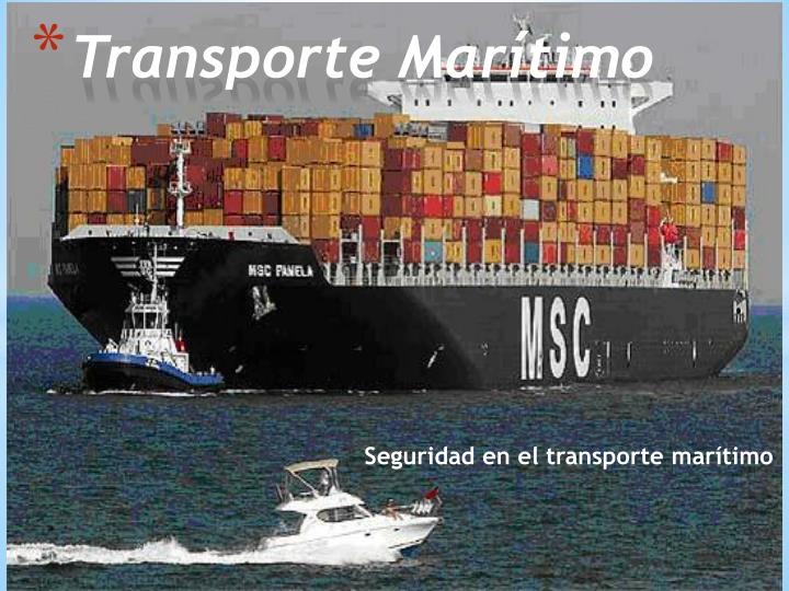 transporte mar timo n.