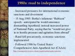 1980s road to independence3
