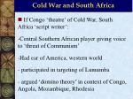 cold war and south africa