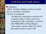 cold war and south africa1