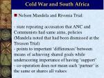 cold war and south africa11
