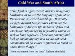 cold war and south africa15