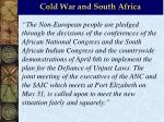 cold war and south africa19