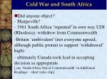 cold war and south africa20