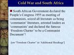 cold war and south africa7