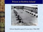 prison at robbin island