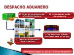 despacho aduanero1