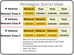 pembagian subnet mask1
