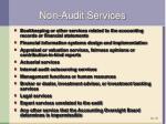 non audit services2