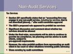 non audit services3