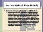 section 10 b rule 10 b 53