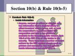 section 10 b rule 10 b 55