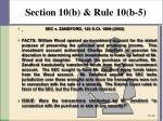 section 10 b rule 10 b 57