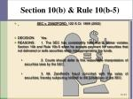 section 10 b rule 10 b 58
