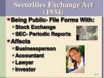 securities exchange act 1934