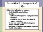 securities exchange act of 19342